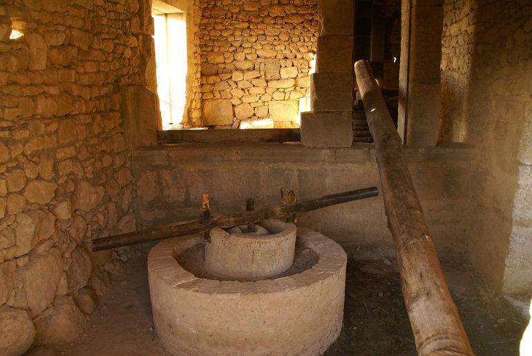 Ókori malomkő