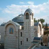 Szent Péter bűnbánati temploma a főpap házának helyén