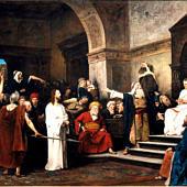 Munkácsy Mihály: Krisztus Pilátus előtt