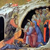 Duccio di Buoninsegna: Pokolra szállás