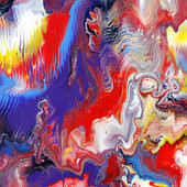 Egymásba folyó színek