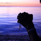 Imádkozó férfi